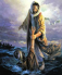 Jesus saves Peter